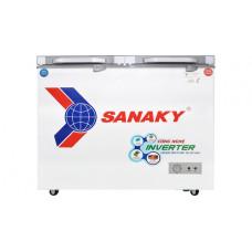 Tủ đông Sanaky 280 Lít 2 ngăn 2 cánh Inverter VH-2899W4K
